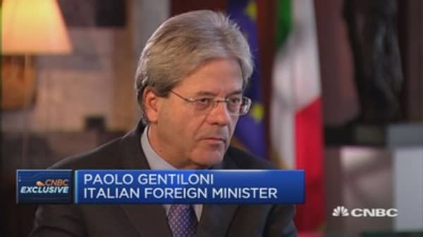 In any case, Italy won't be an economic threat: Foreign Min