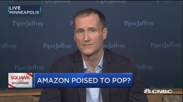 Amazon to do about 2% of total sales on Cyber Monday: Munster