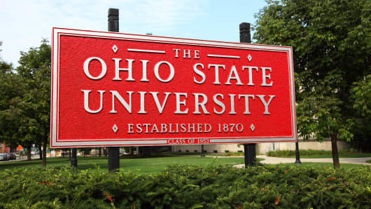 The Ohio State University, commonly referred to as Ohio State or OSU, is a public research university located in Columbus, Ohio.