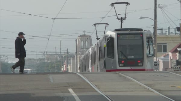 Hackers attack San Francisco Muni line