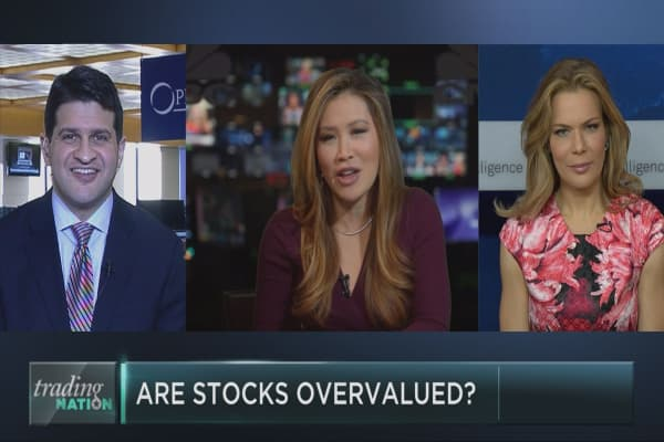 Are stocks getting overvalued?