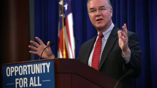 U.S. Representative for Georgia's 6th congressional district Tom Price.