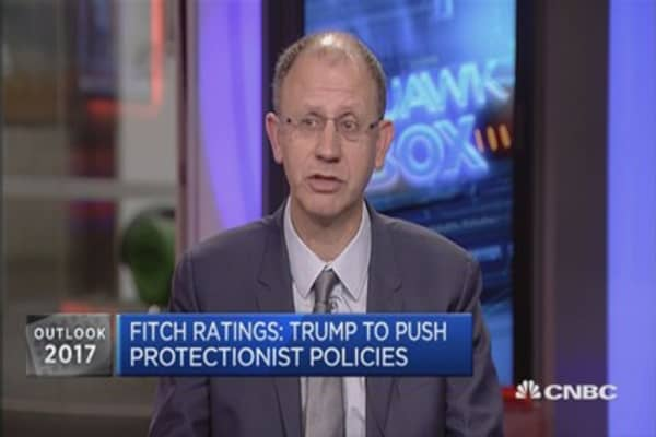 Fiscal reflation will dominate in 2017: Fitch Ratings