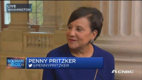 Commerce Sec. Pritzker: We can't afford to go backwards on jobs