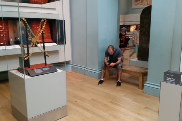 Life on the road. Scott Keyes paused on his tour of the British Museum in London to analyze a great ticket deal.