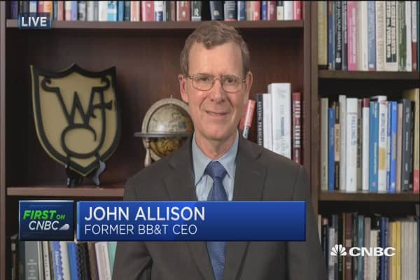 Allison: Need to get regulators off banks, and Fed disciplined