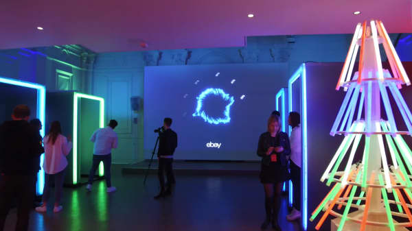 eBay opens the world's first emotionally powered store