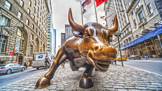 Wall Street Bull.