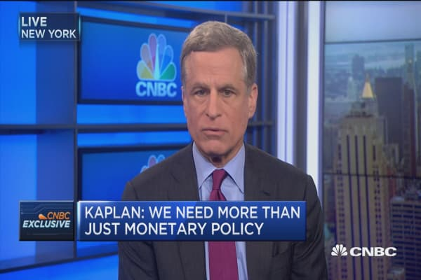Kaplan: Market changes shouldn't drive policy