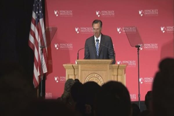 Mitt Romney praises Trump after dinner together