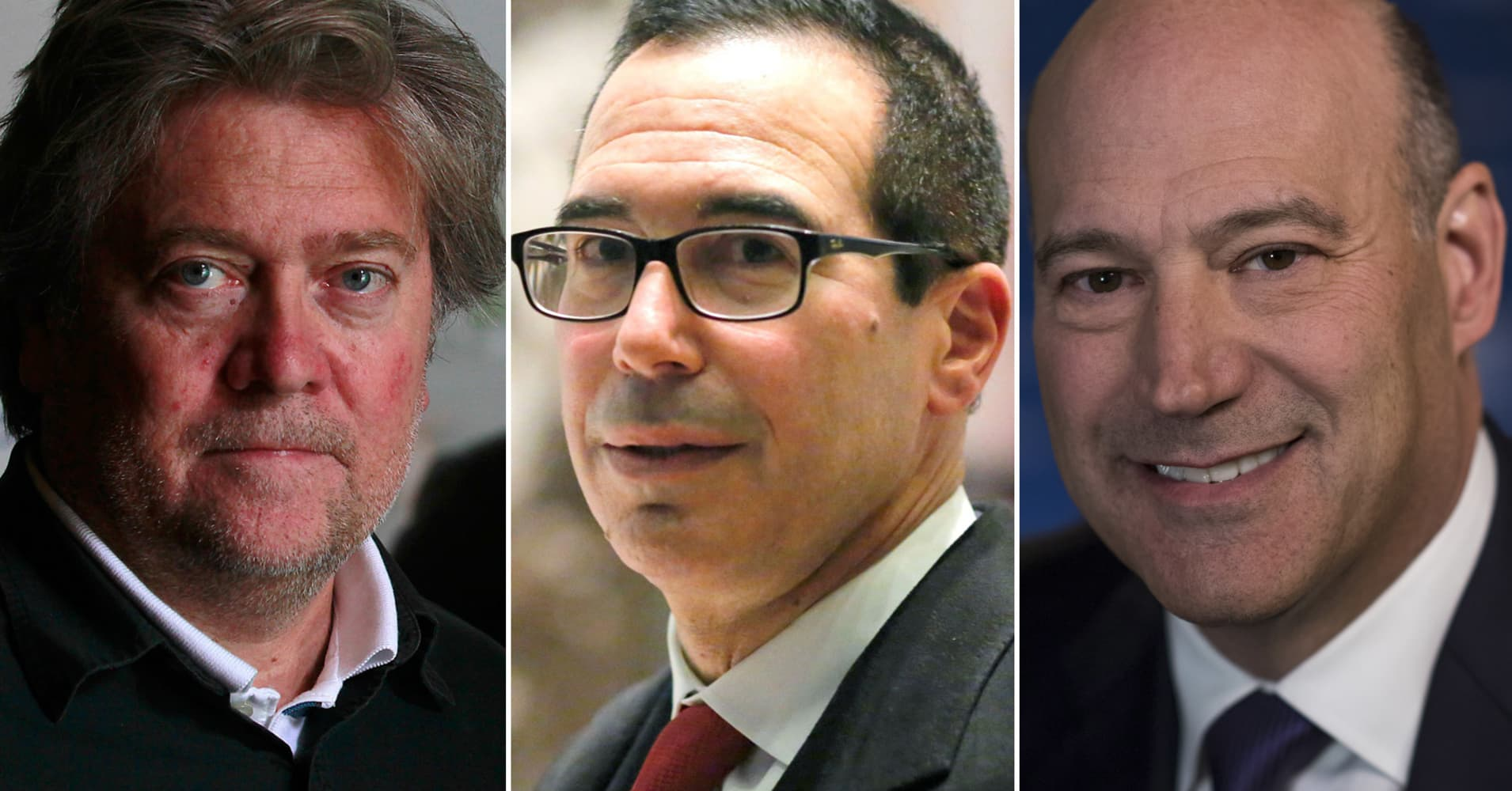 Wall Street basher Trump loving Goldman guys for his team