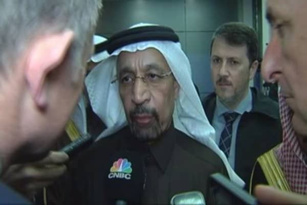 OPEC deal one 'we have been seeking': Saudi energy minister