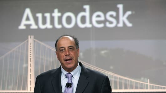 Carl Bass, president and chief executive officer of Autodesk
