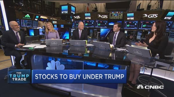 Stocks to buy under Trump: DLPH, LMT, GS & more