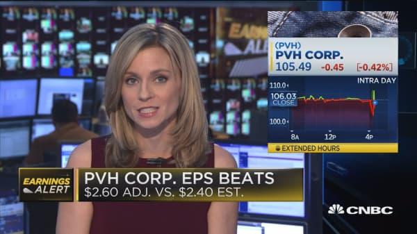 PVH Corp. beats, Guess misses