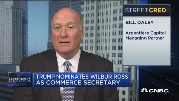 Daley: Wilbur Ross is a good choice for a couple reasons