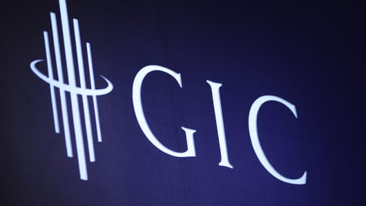 The logo of the Government of Singapore Investment Corp. (GIC)