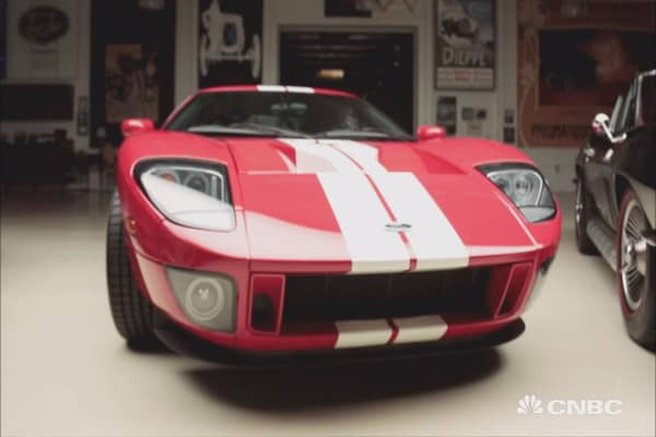 Jay Leno tests the theory that newer cars don't appreciate as well as older classics