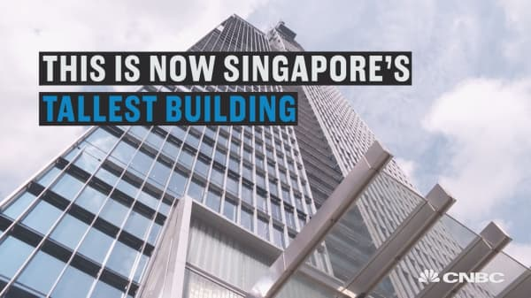 This skyscraper is a 'vertical city'