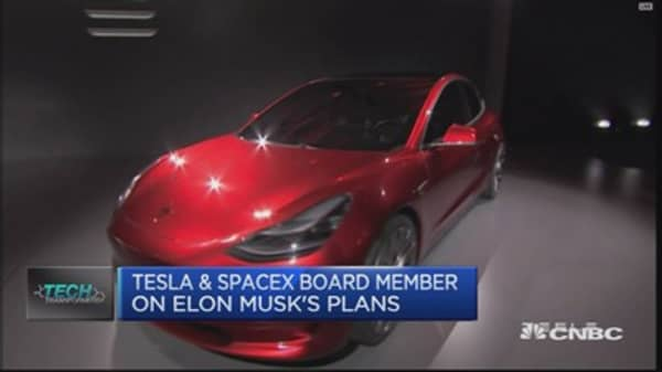 SpaceX board member on Elon Musk's plans
