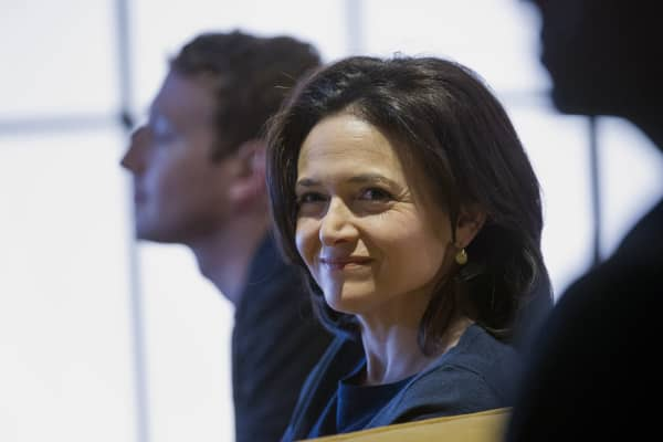 Facebook's Sandberg is giving $100 million in stock to charity