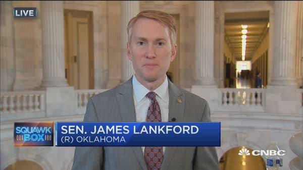 Sen. Lankford on national debt: We need to limit spending