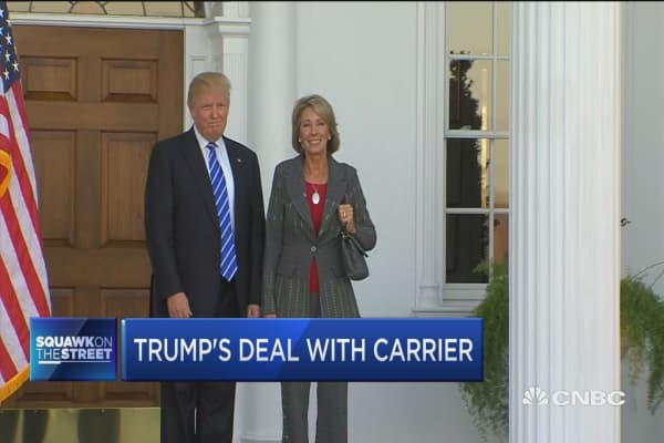 Trump's deal with Carrier