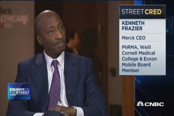 Bringing drugs in from outside the US is actually a dangerous concept: Merck CEO
