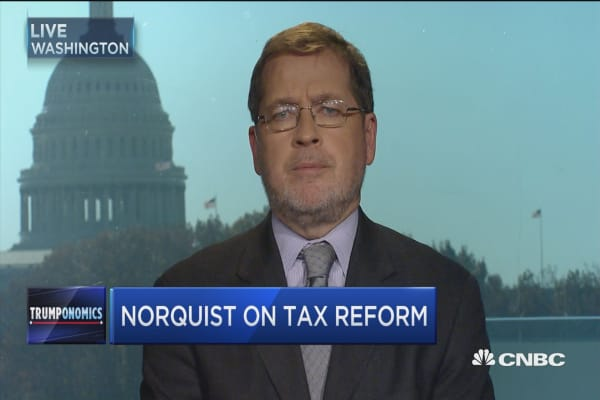 Norquist on taxes, Trump & Reagan