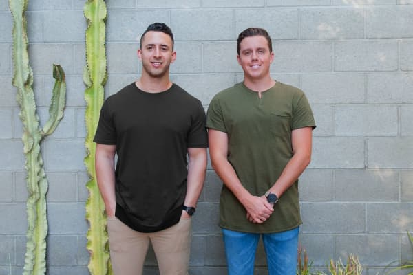 MVMT co-founders Jake Kassan (left) and Kramer LaPlante.
