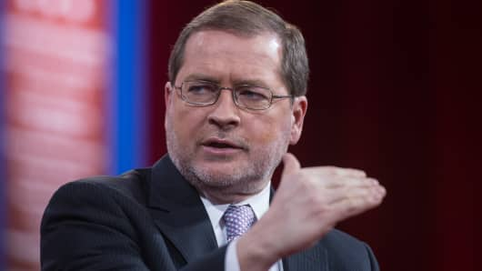 Grover Norquist, founder and president of Americans for Tax Reform.