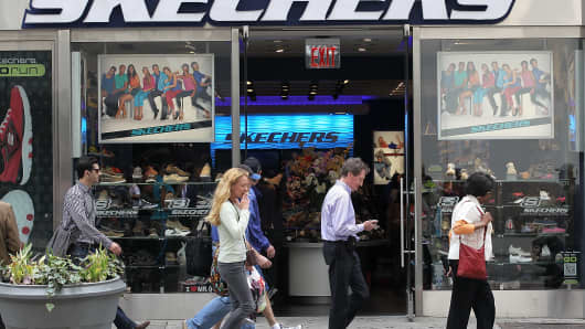 9a60a038a673 Skechers shares tank on weak outlook for the sneaker business