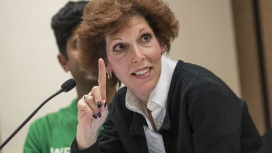 Loretta Mester, president and chief executive officer of the Federal Reserve Bank of Cleveland.