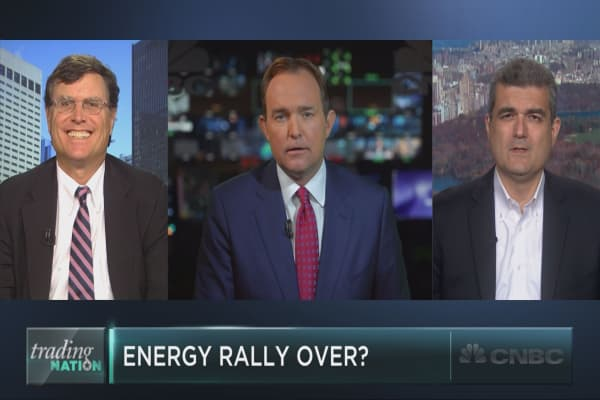 Is the energy rally over?