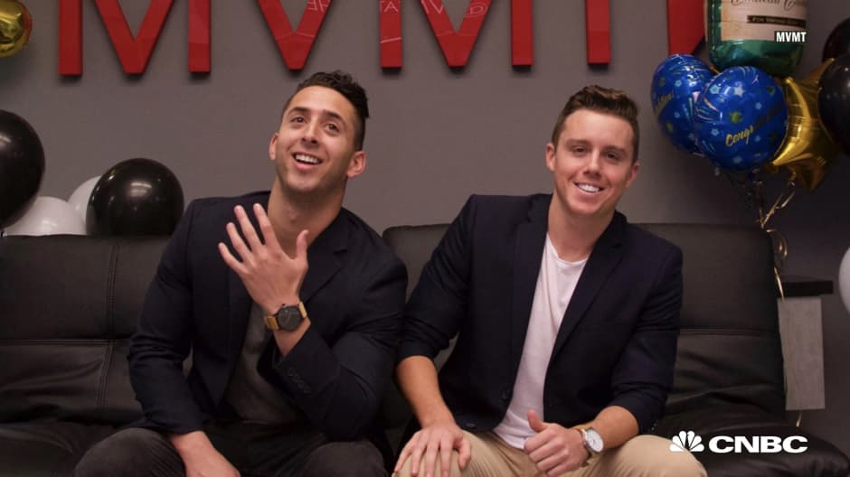 a6387b7edd7 How two 25-year-old college dropouts built a watch company that made  60  million this year