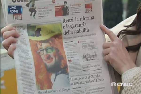 Italy's referendum: What the national press is saying