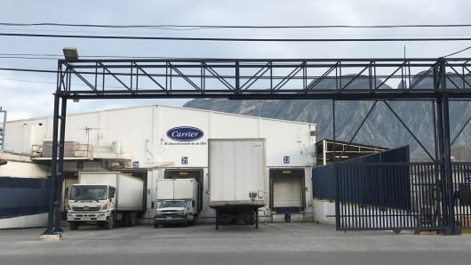 A Carrier facility in Monterrey, Mexico.