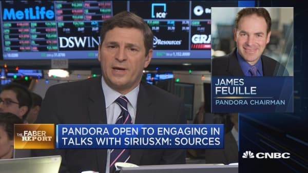 Pandora open to engaging in talks with Sirius XM: Sources