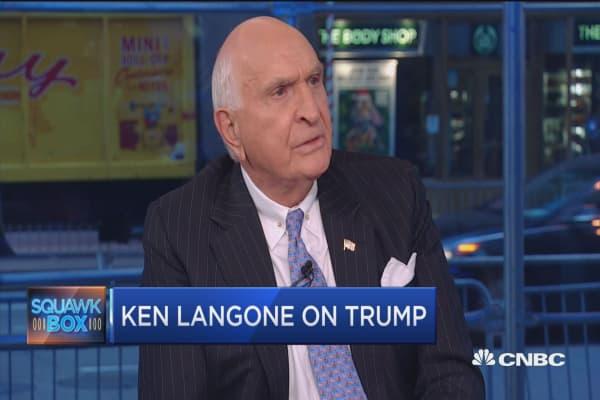 Langone: Romney disgusts me