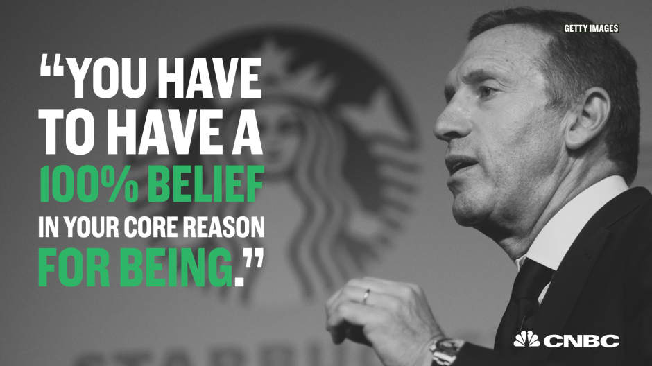 Starbucks CEO Howard Schultz' most inspirational quotes