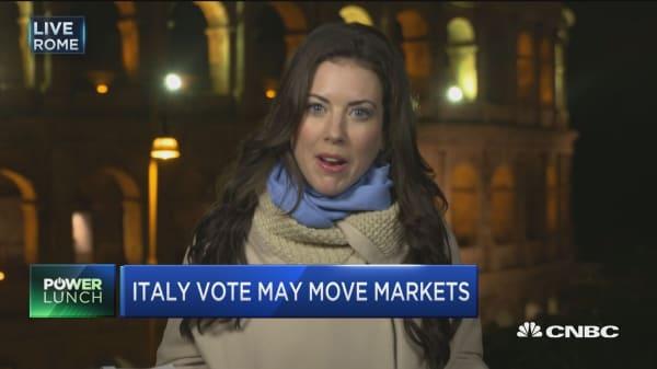 Key vote in Italy this weekend