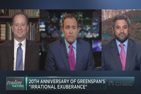 """20th anniversary of """"irrational exuberance"""""""