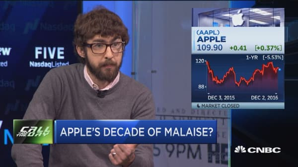 Analyst: Apple's lack of courage will lead to 'decade of malaise'