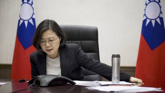 Taiwan Trump