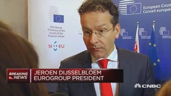 Politicians must show a viable way forward: Dijsselbloem