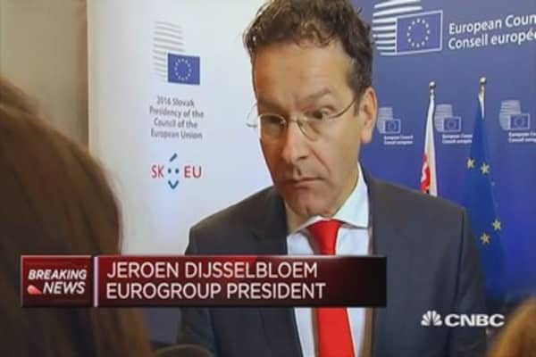 Politicians must show a viable way forward: Dijsselbloem