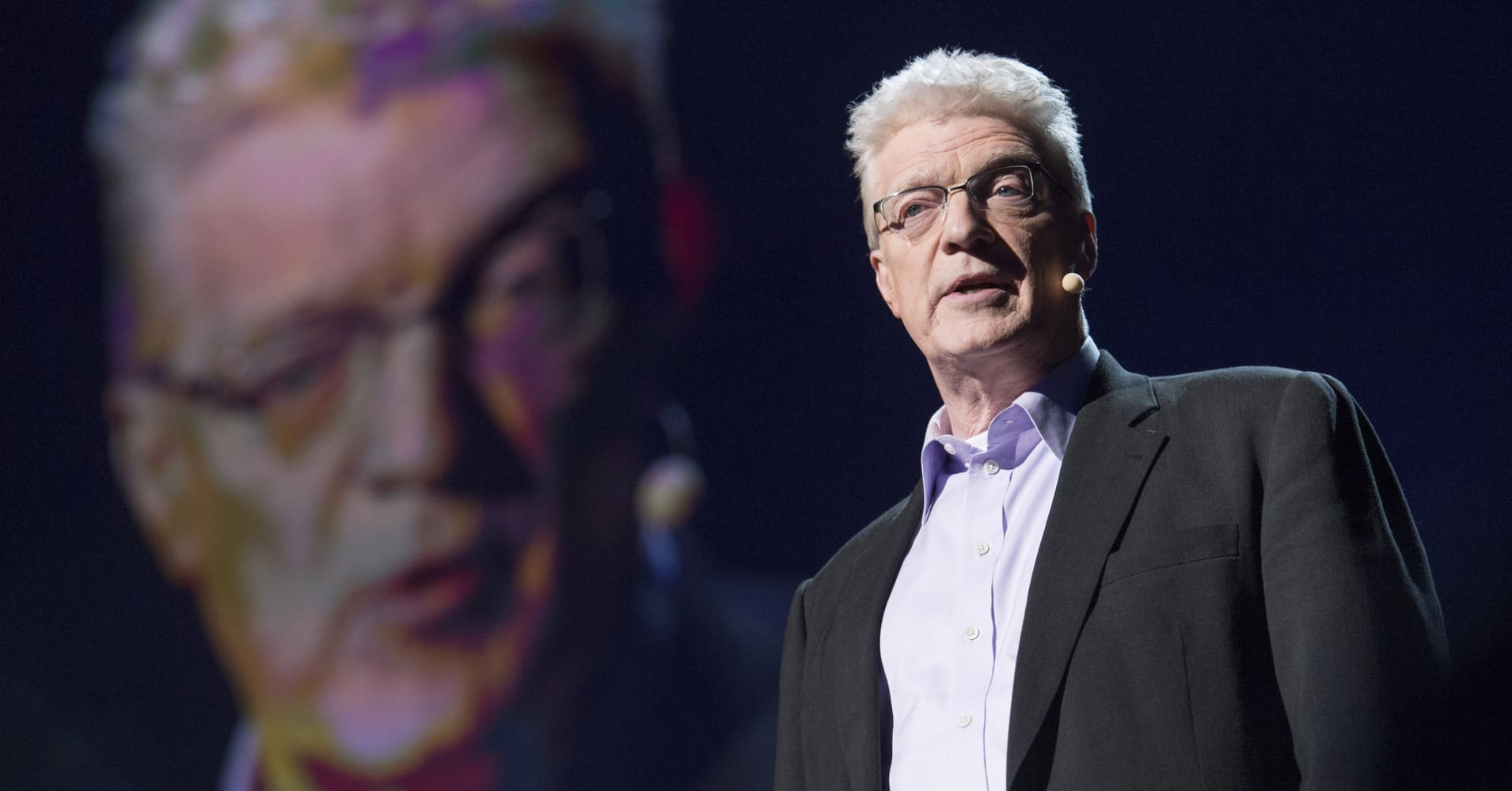 Sir Ken Robinson at TED2013.