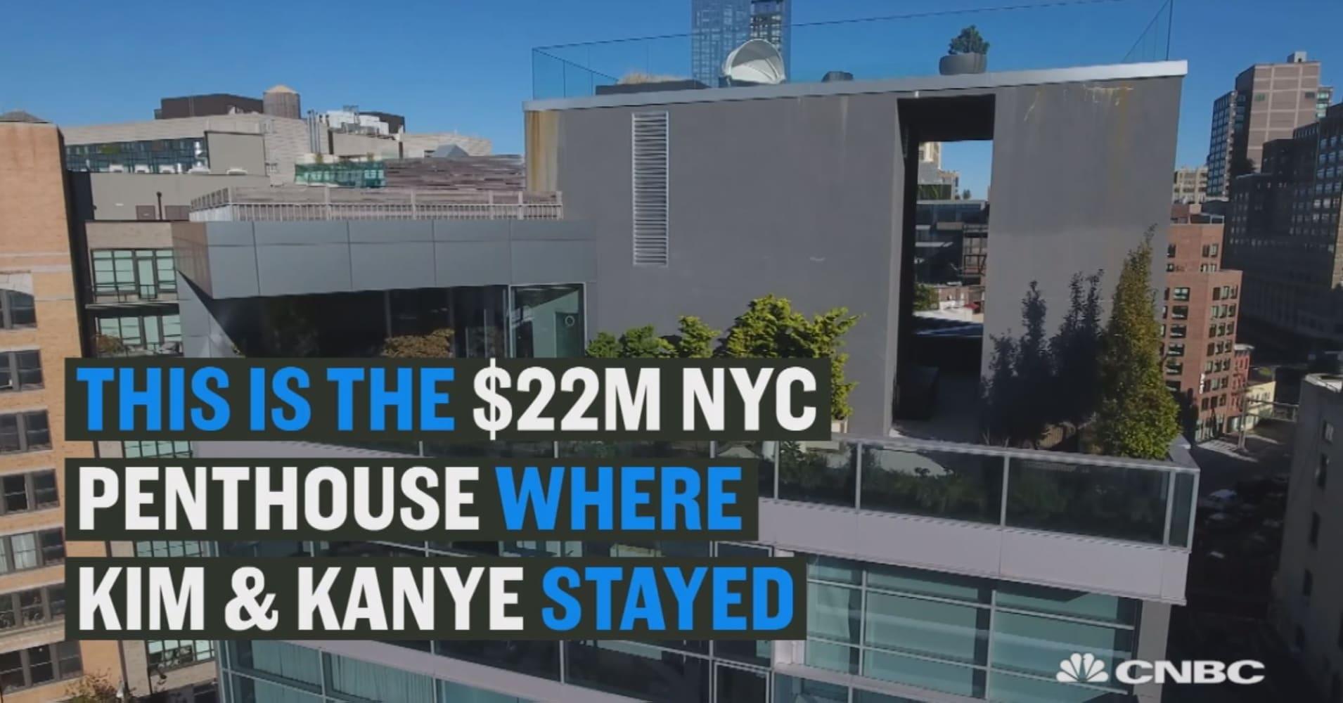 See Inside Kim And Kanyes 225 Million New York City Crashpad