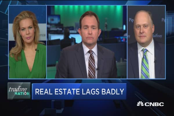 Trading Nation: Real estate lags badly