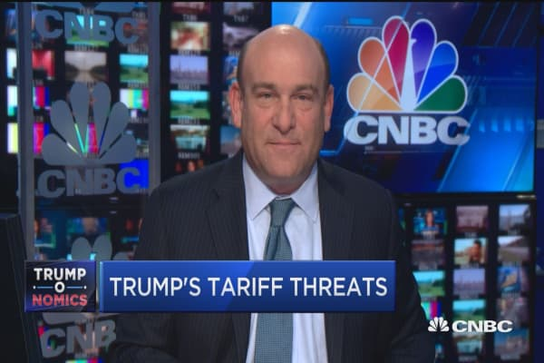 Trump's tariff threats